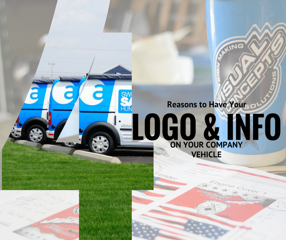 4 Reasons to Put Your Logo and Info on your company vehicle
