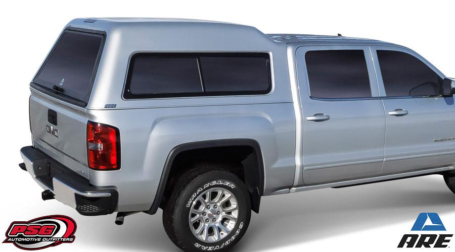 In Bed Tool Box >> Truck Caps | Fiberglass Bed Cap Aluminum Work Truck Caps