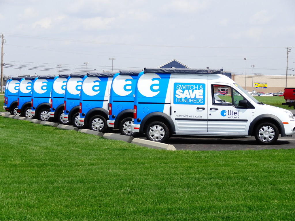 Alltel Wireless Fleet Vans