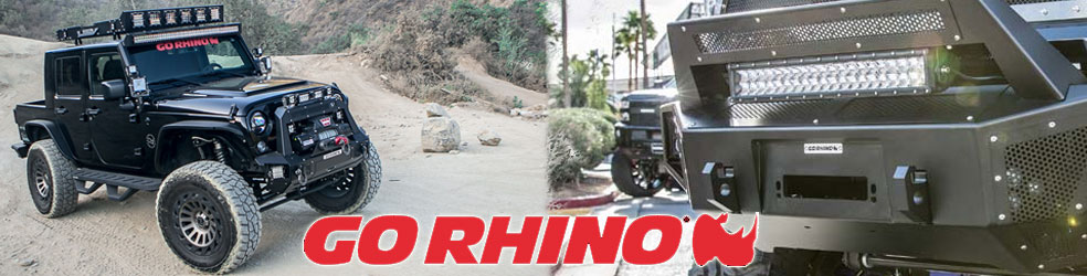 GoRhino Bumpers Truck and Jeeps