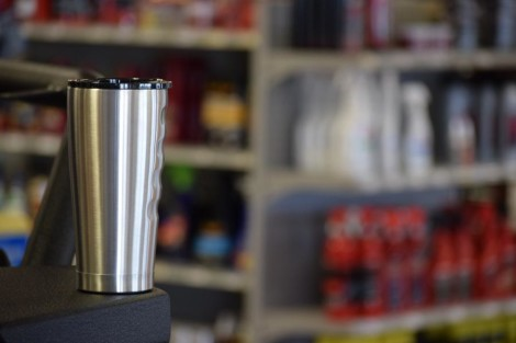 Grizzly 20oz Stainless Steel Tumbler