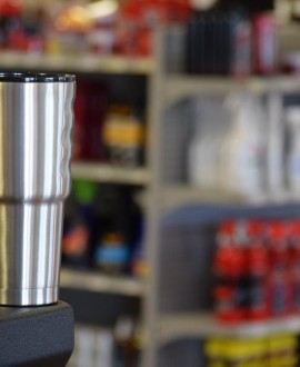 Grizzly 32oz Stainless Steel Tumbler