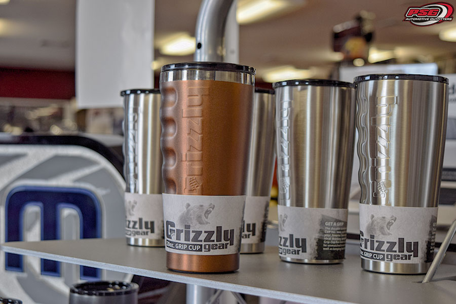Grizzly Coolers Gear Gripped Drinkware Color Copper