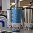 Grizzly Coolers Gear Gripped Drinkware Color Process Blue