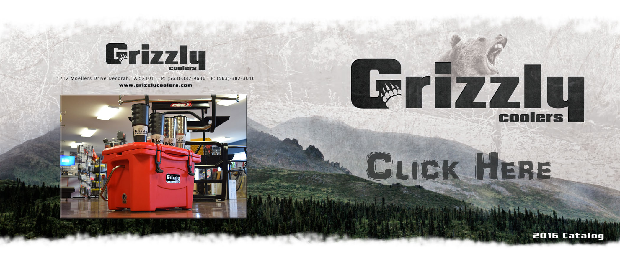 Grizzly Coolers Catalog