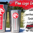 Houston Wildcats. Decal Tumblers. PSG Automotive
