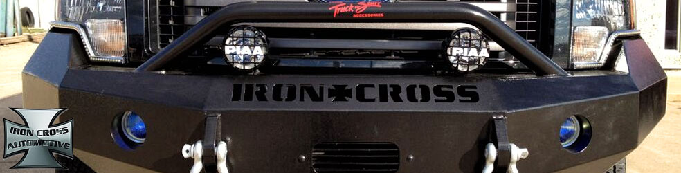 Iron Cross Bumpers Trucks and Jeeps