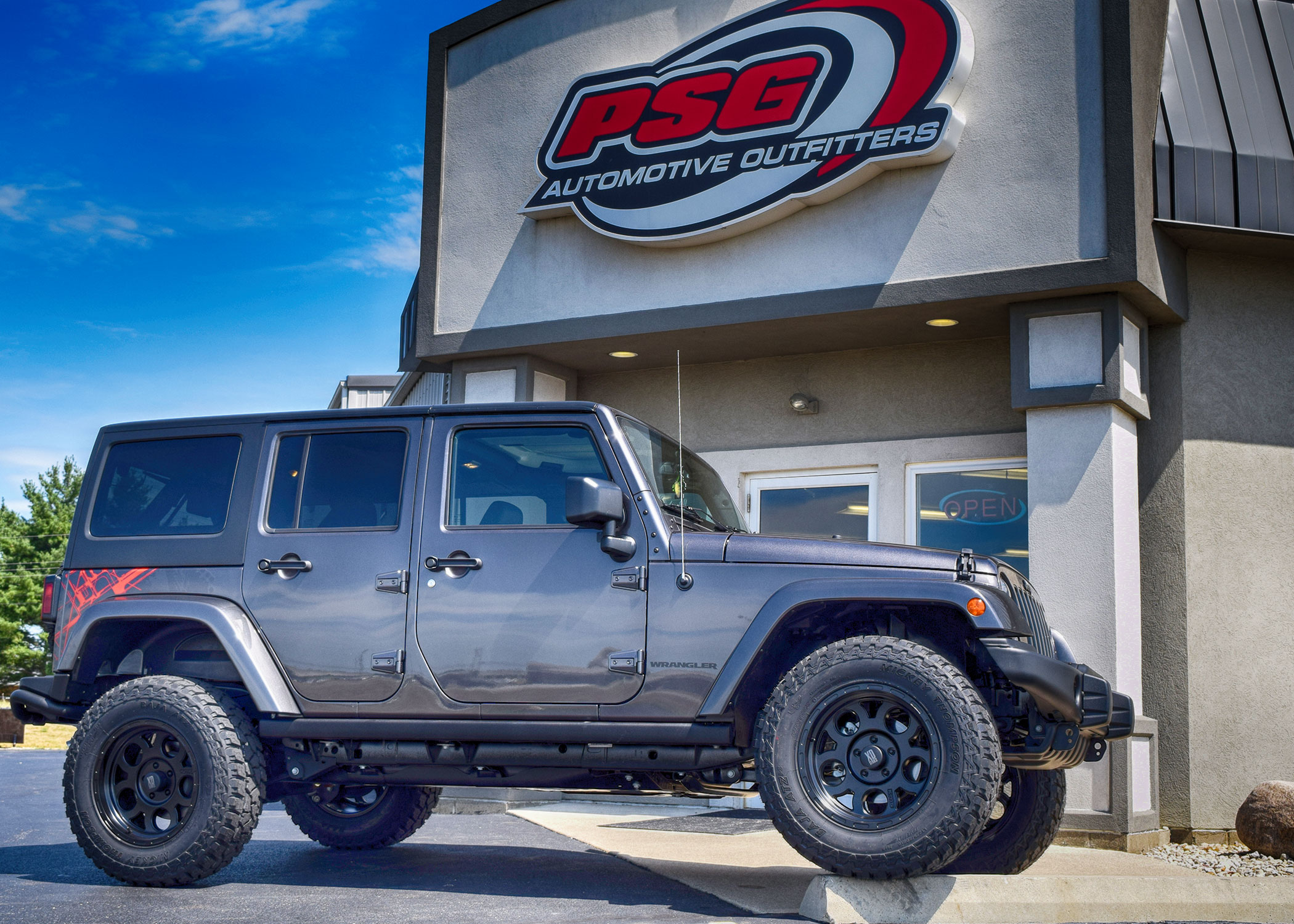 Jeep Zone PSG Automotive Sidney Ohio Lift Tires Wheels