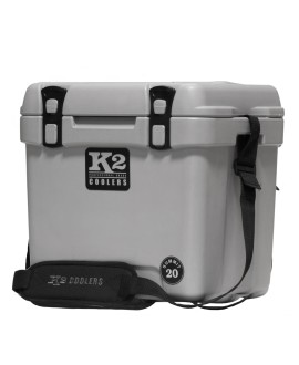 Summit 20 Series Cooler Steel Gray