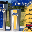 Lehman Cavaliers. Decal Tumblers. PSG Automotive