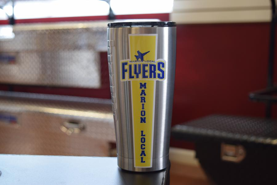 Marion Local High School Custom Grizzly Gear Tumblers. Visual Concepts Sign Making Solutions (1)