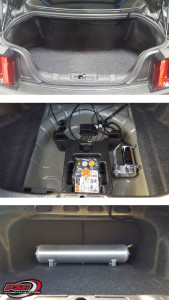 Mustang Air Lift Suspension Trunk Before And After Psg