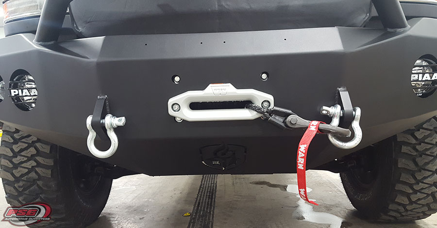 Ranch Hand Bumper With Winch Insert Psg Automotive