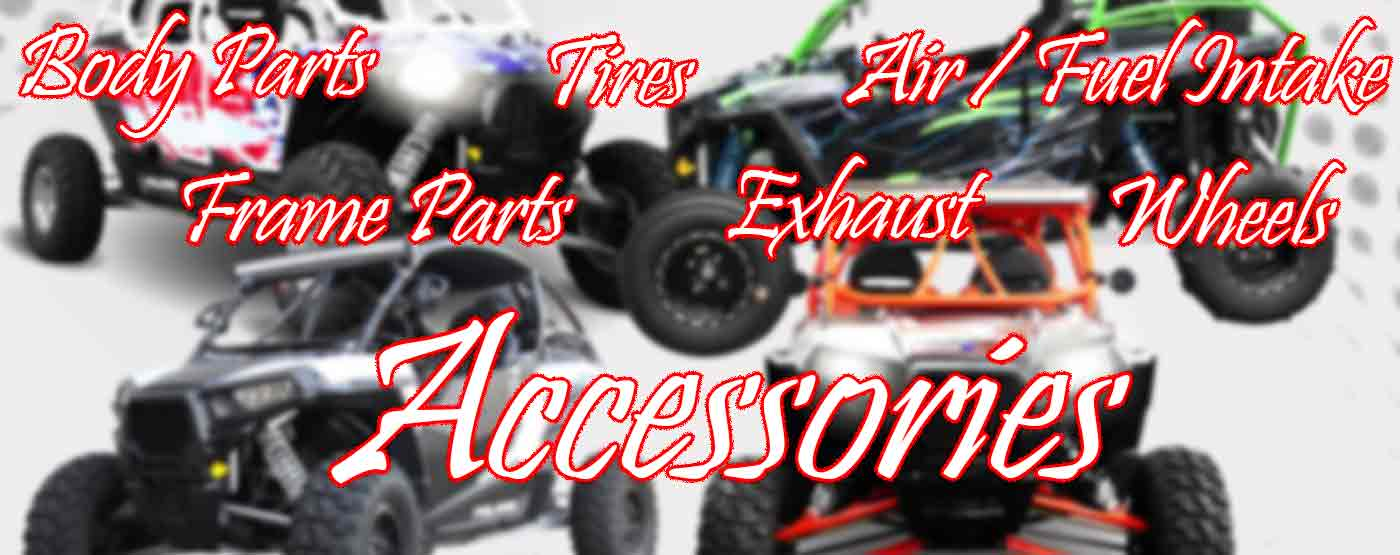side by side utv accessories and parts