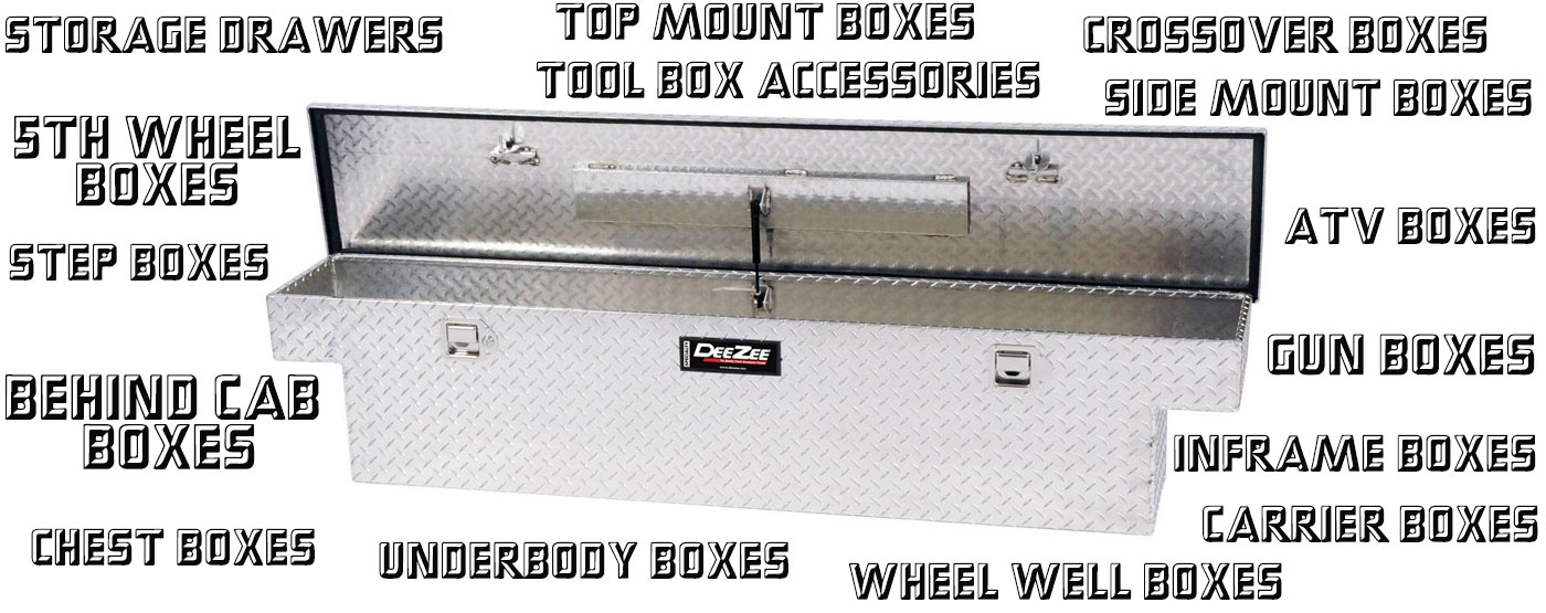 Tool boxes and Tool storage PSG Automotive Outfitters