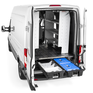 commercial van equipment and accessories interior
