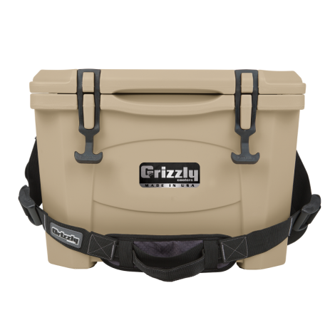 Grizzly 15 Tan Cooler