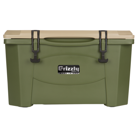 Grizzly 40 OD Green Cooler