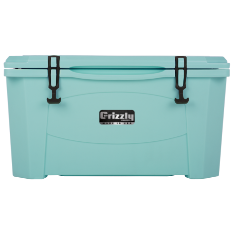 Grizzly 60 Cooler Seafoam Green