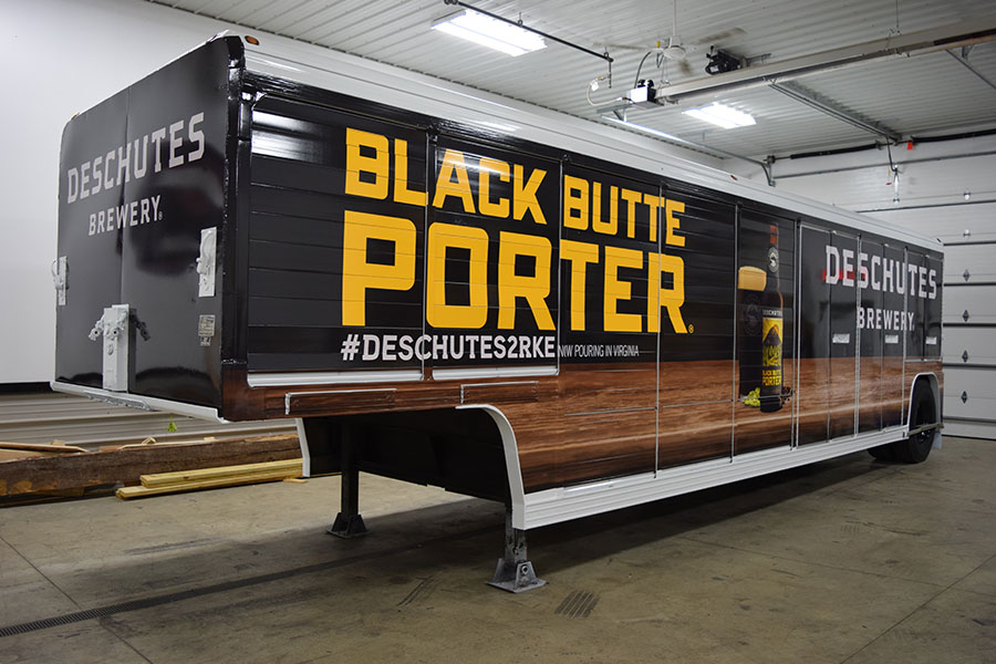 Deschutes Brewery Finished Trailer Psg Automotive