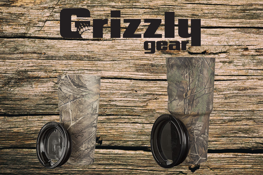 Grizzly camo cup