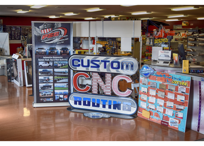 Visual Concepts Sidney Ohio Sign Shop and Digital Print
