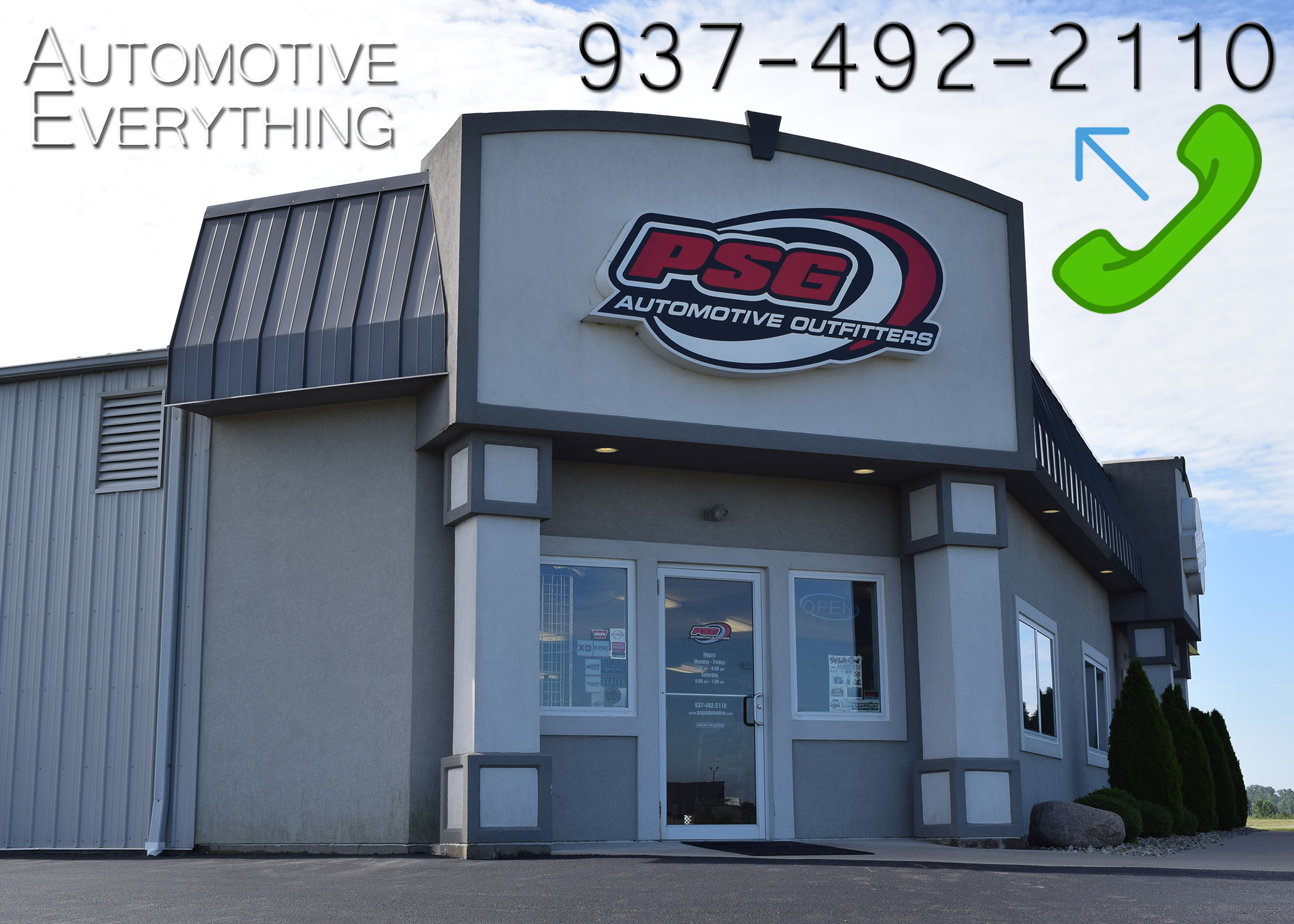 Psg Automotive Outfitters Sidney Oh 937 492 2110