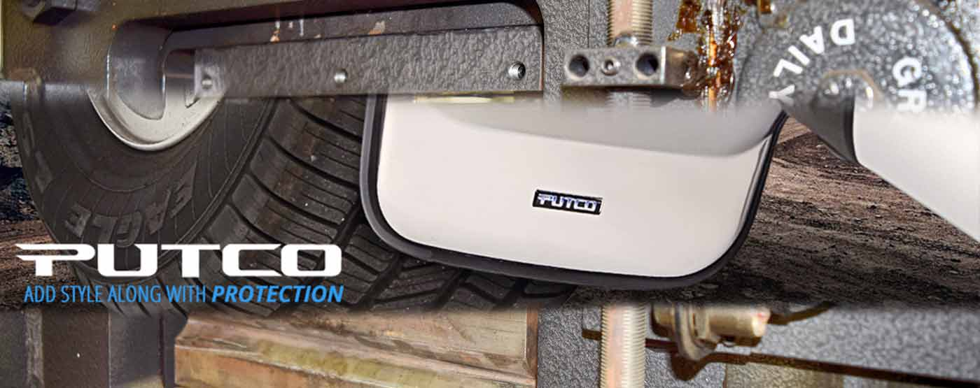 Putco Mud Flaps at PSG Automotive Outfitters