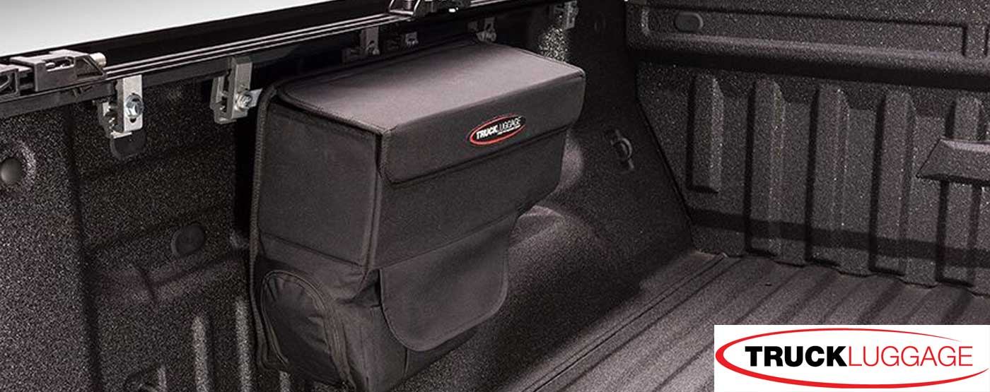 truck bed saddlebag tonneau cover rail bag