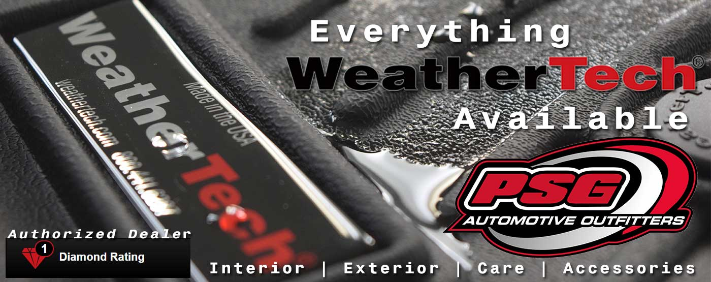WeatherTech dealer. PSG Automotive. Sidney. Ohio.