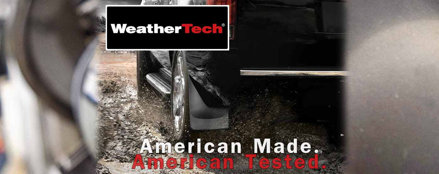 WeatherTech Mud Flaps at PSG Automotive Outfitters