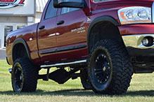truck suspension system install